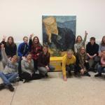 """BO4 besucht die Ausstellung """"Making van Gogh"""" in Frankfurt"""