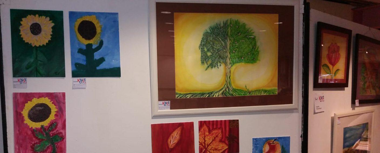 Ausstellung unserer Kunstwerke