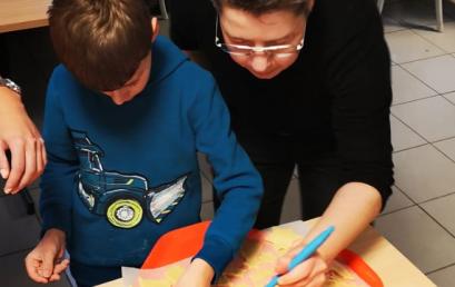 """Klasse G2 besucht die """"Weihnachtsbäckerei"""" in Heisterberg"""