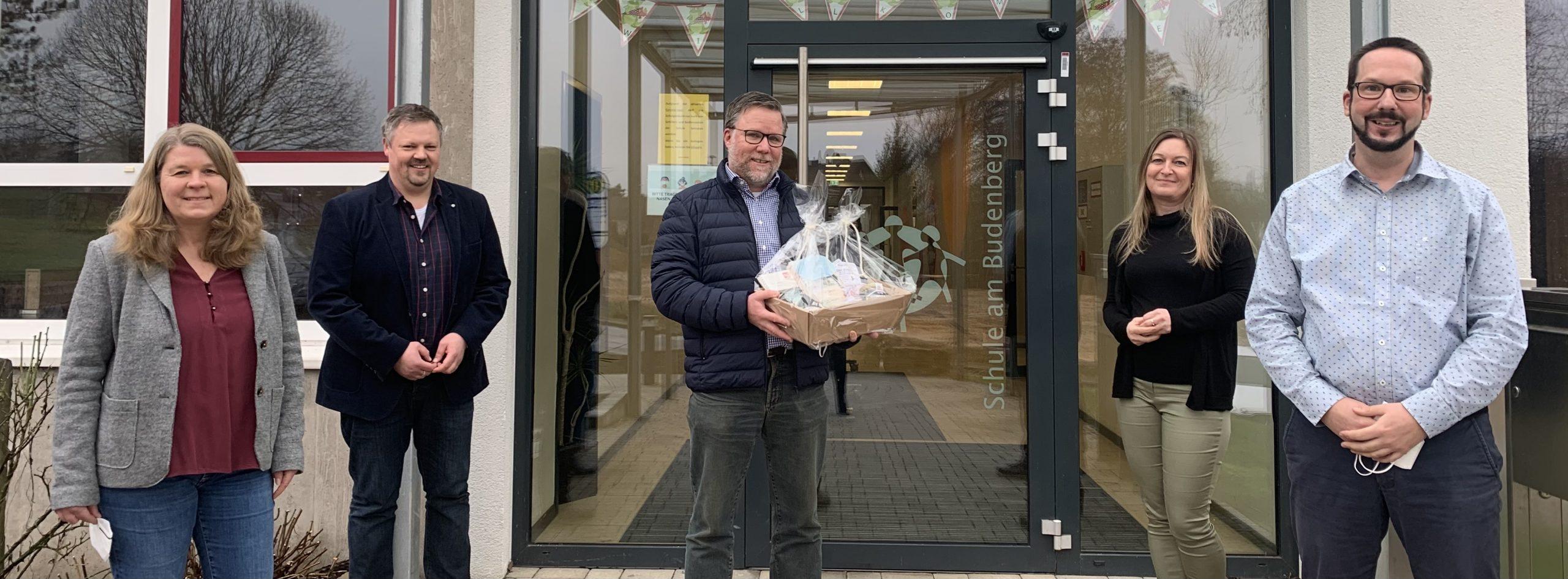 Jörg-Martin Jacob ist neuer Schulleiter an der Schule am Budenberg