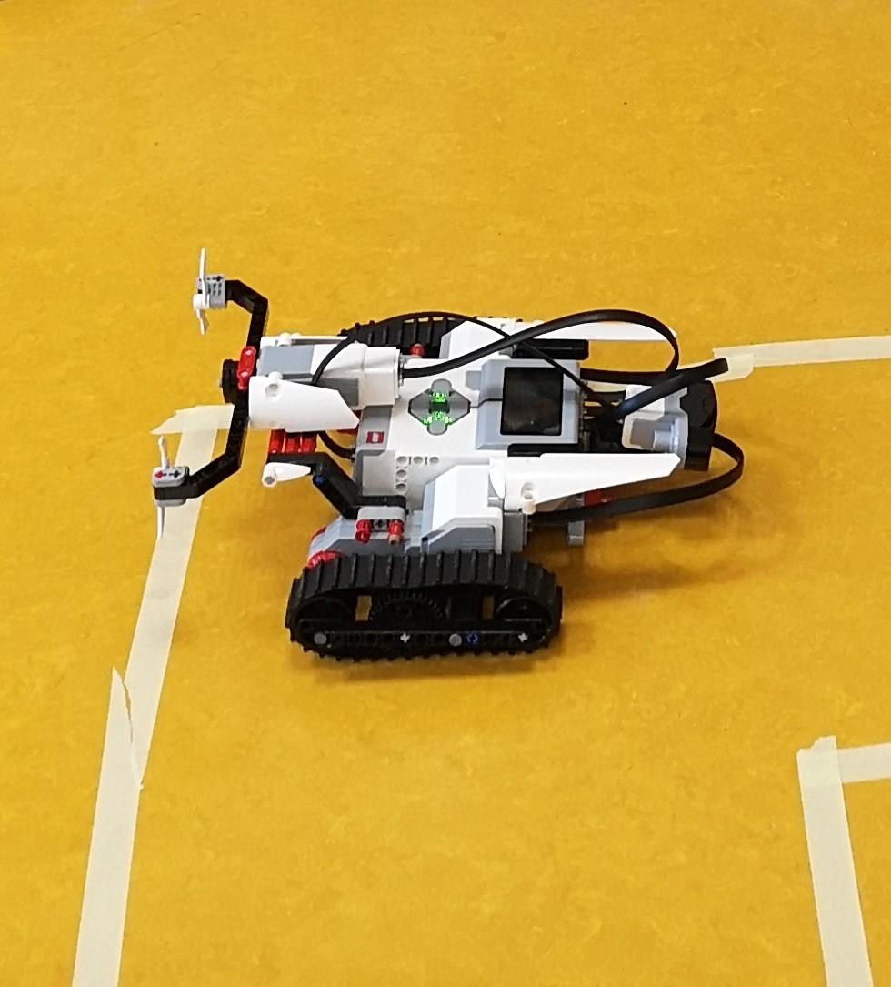 Lego-Mindstorm-Projekt der Klasse BO 6