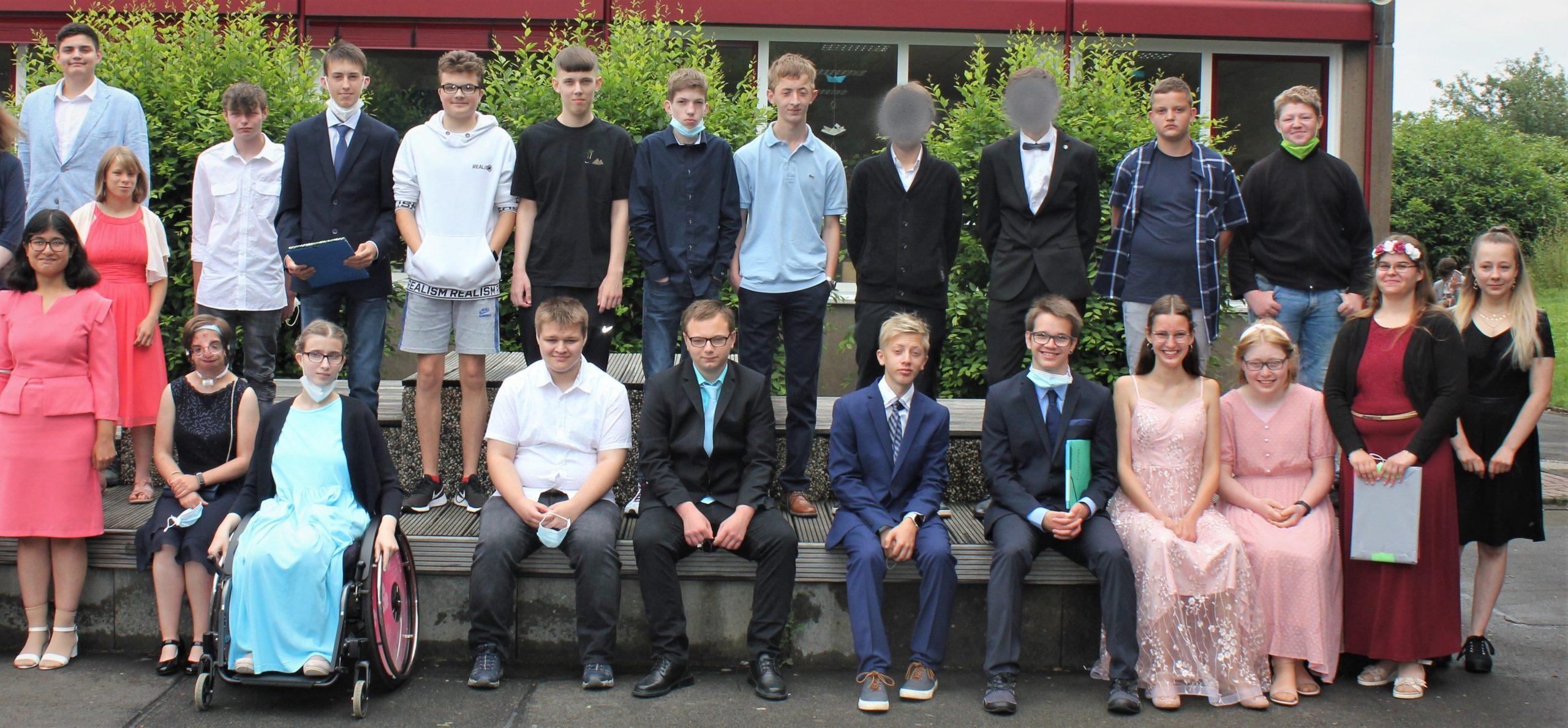 Schule am Budenberg verabschiedet 25 Abgänger